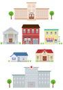 Flat City Buildings set