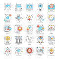Flat Color Line Icons 2
