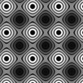 Flat colorless pattern Royalty Free Stock Photos