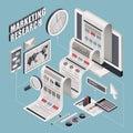 Flat 3d Isometric Marketing Re...
