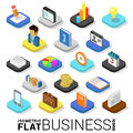 Flat 3d isometric vector business finance money mobile app icon