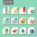 Flat design icon set Stock Photo