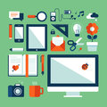 Flat Design  Illustration Conc...