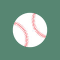 Flat icon baseball ball