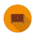 Flat icon chest