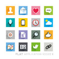 Flat icon designs applications layered vector illustration Royalty Free Stock Photo
