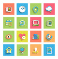 Flat icon set universal icons this is file of eps format Royalty Free Stock Photography