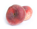 Flat nectarine Royalty Free Stock Photo