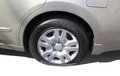 Flat Rear Car Tire Stock Images