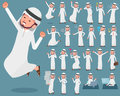 Flat type Arab man_1