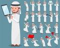 Flat type Arab man_2