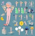 Flat type patient grandmother_money