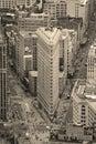 Flatiron Building in Manhattan New York City Royalty Free Stock Photography