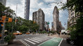 Flatiron building Manhattan New York City Royalty Free Stock Photo