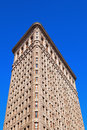 Flatiron Building in Manhattan, New York City Royalty Free Stock Photo
