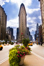Flatiron Building New York City Stock Images