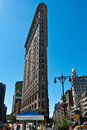 Flatiron building, New York city Royalty Free Stock Photo