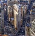 Flatiron Building, New York Royalty Free Stock Photo