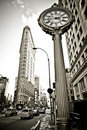 Flatiron building in NYC Royalty Free Stock Photo