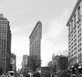 Flatiron Building at NYC Royalty Free Stock Photo