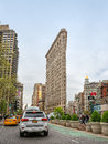 Flatiron Building at NYC Royalty Free Stock Photo