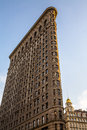 Flatiron building the originally the fuller is located at fifth avenue in the borough of manhattan new york city and is Royalty Free Stock Images