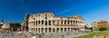 Flavian Amphitheatre (Colosseum) in Rome Royalty Free Stock Photo