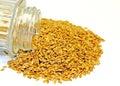 Flax Seeds Royalty Free Stock Photos