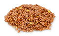 flax seeds Royalty Free Stock Photo