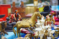 Flea-market in Brugge, Belgium Royalty Free Stock Photo