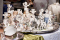 Flea market scene on a Stock Photography