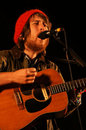 Fleet Foxes Singer Royalty Free Stock Photography