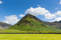 Fleetwith Pike mountain Buttermere English Lake District Cumbria England uk on a beautiful sunny summer day Royalty Free Stock Photo