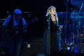 Fleetwood mac in concert sacramento ca july john mcvie l and stevie nicks of perform support of the bands extended play release at Stock Images