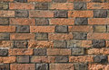 Flemish bond brickwork Royalty Free Stock Photos