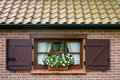 Flemish window Stock Photography