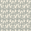 Fleur-de-lis black repeat seamless pattern Royalty Free Stock Photo