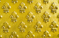 Fleur de Lis pattern Royalty Free Stock Photo