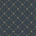 Fleur-de-lis seamless pattern background Royalty Free Stock Photo
