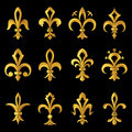 Fleur de lys Royalty Free Stock Photos