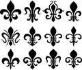 Fleur De Lys Classic Symbols