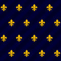 Fleur de lys tile Royalty Free Stock Photo