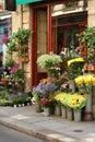 Fleuriste Royalty Free Stock Photo