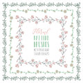 Flexible Floral Pattern Brushes with Branches and Flowers