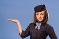 Flight attendant Stock Photography