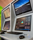 Flight control Stock Images