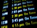 Flight Times Royalty Free Stock Image