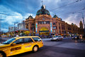 Flinders Station Royalty Free Stock Photo