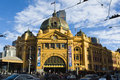Flinders Street Station Royalty Free Stock Images