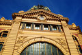 Flinders Street Station Melbourne Royalty Free Stock Images